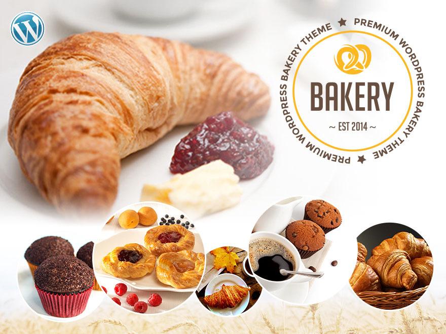 Bakery best restaurant WordPress theme