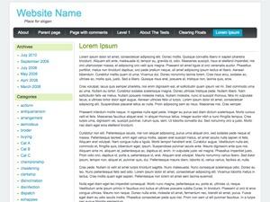 Baza Noclegowa WordPress blog theme