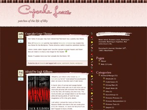 Best WordPress template Cupcake Love