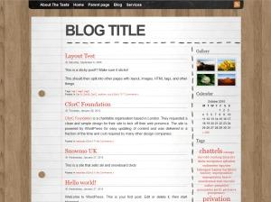 Best WordPress template Desk