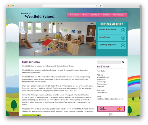 Best WordPress template Peekaboo - westfield.aberdeenshire.sch.uk