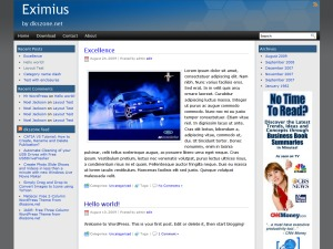 Best WordPress theme Eximius