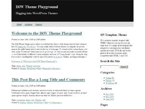 Best WordPress theme H5
