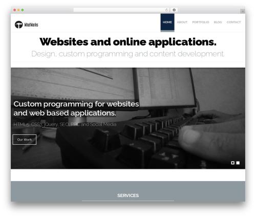Best WordPress theme Hercules - whatworksweb.com