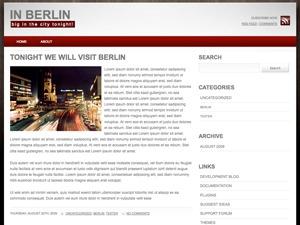 Best WordPress theme in-berlin