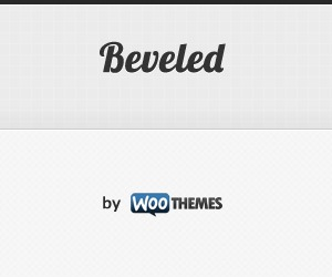 Beveled best WordPress theme