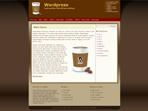 Blend WordPress theme