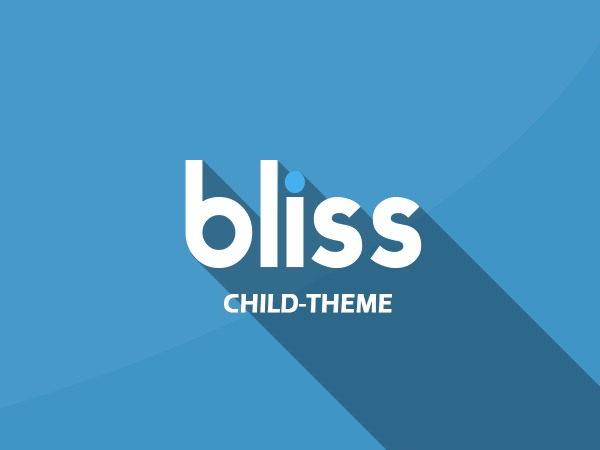 Bliss theme WordPress