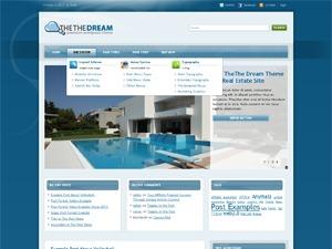 Blue Dream top WordPress theme