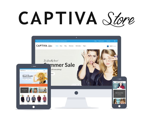 Captiva WordPress store theme