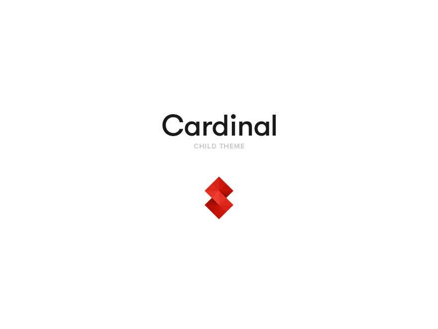 Cardinal Child Theme theme WordPress