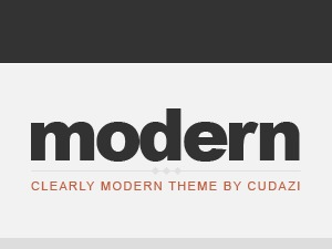 Clearly Modern premium WordPress theme