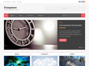 Compasso newspaper WordPress theme