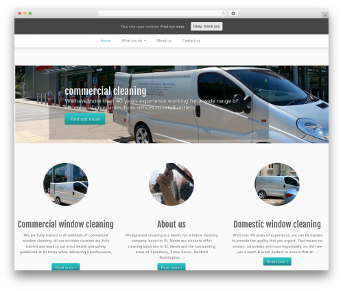 Customizr best free WordPress theme - wedgwoodcleaning.com