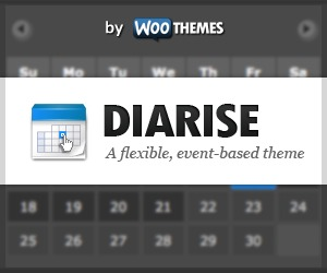 Diarise WP template