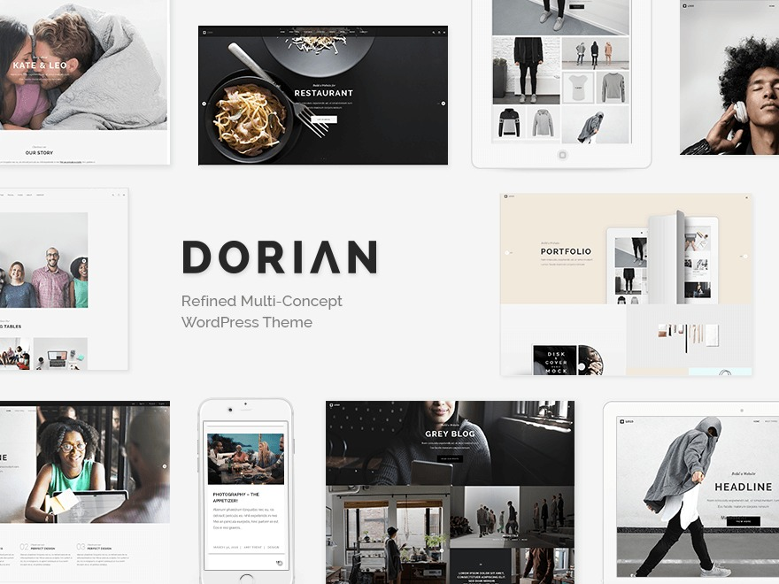 Dorian Child best WordPress template