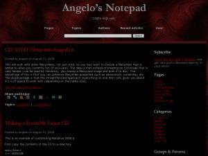 Dragonskin WordPress blog theme