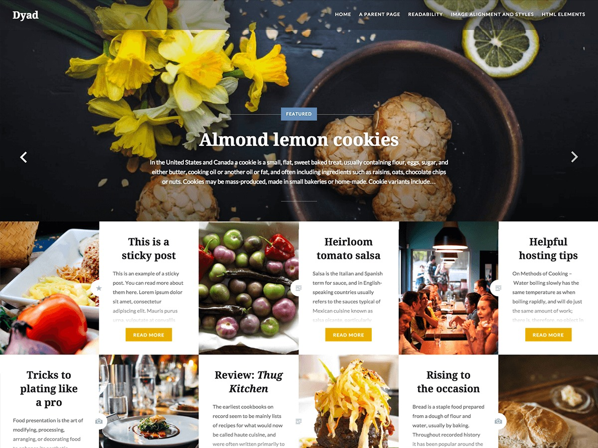 Dyad WordPress theme image