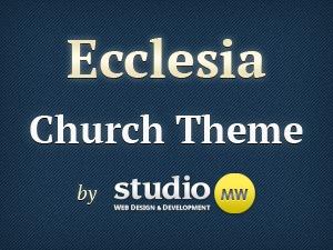 Ecclesia WordPress theme