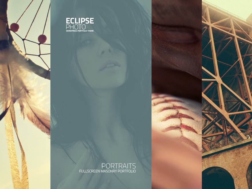 Eclipse Photo wallpapers WordPress theme