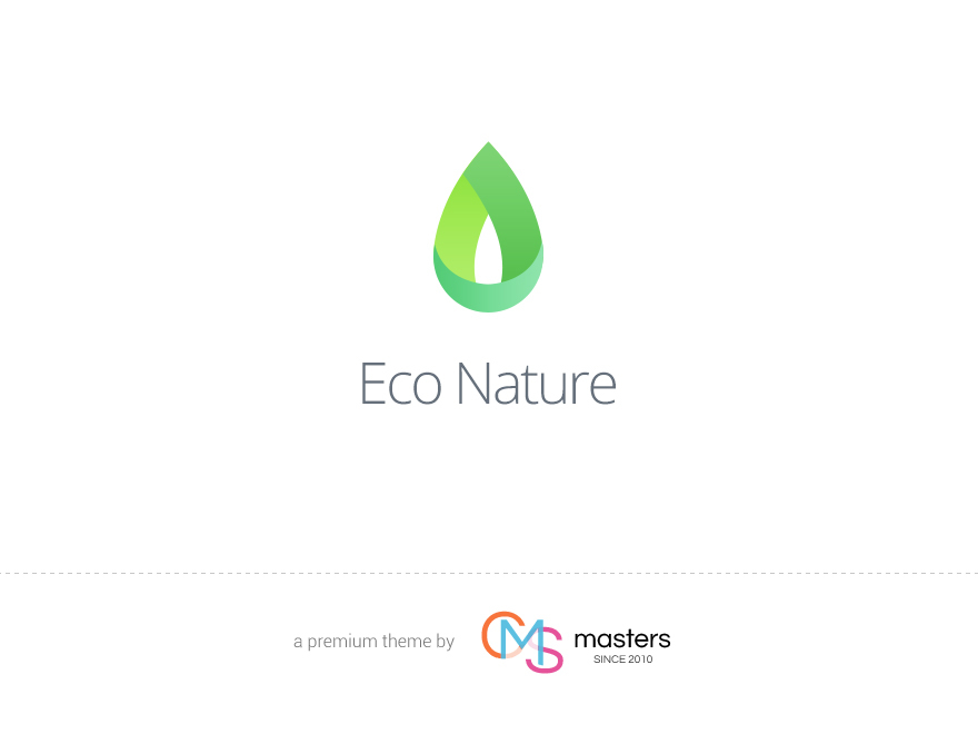 EcoNature theme WordPress portfolio