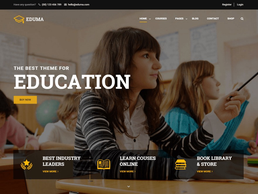 Eduma WP template