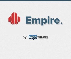 Empire WordPress website template