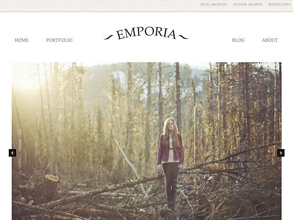 Emporia theme WordPress