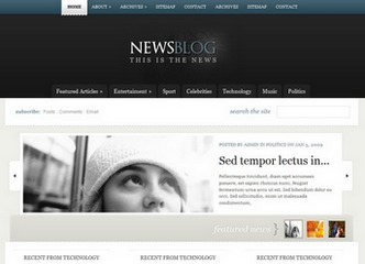 eNews newspaper WordPress theme