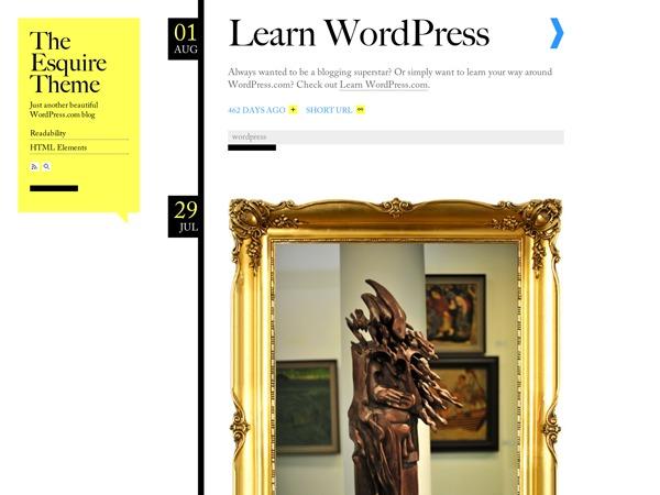 Esquire newspaper WordPress theme