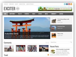 Exciter WordPress blog theme