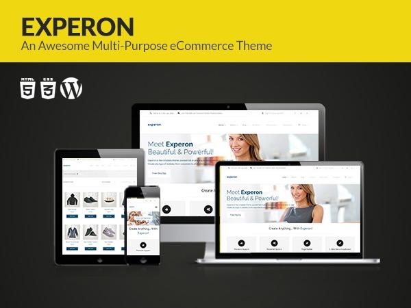 Experon Pro company WordPress theme