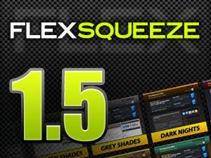 FlexSqueeze WordPress blog template