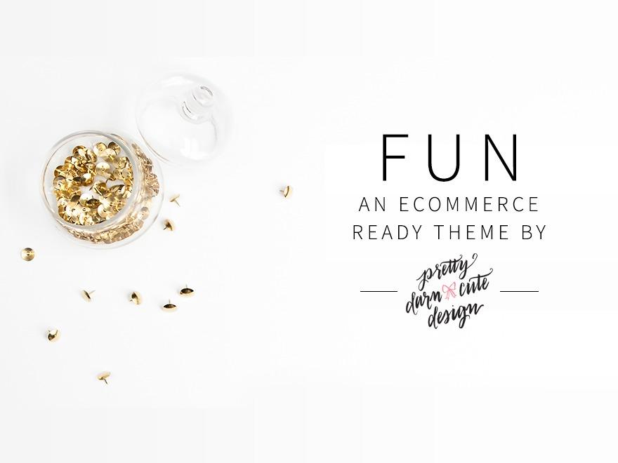 Fun WordPress Theme WordPress ecommerce theme