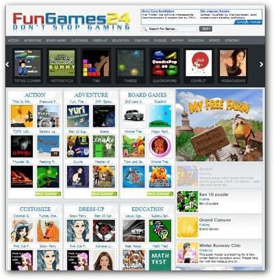 Fungames WordPress gaming theme