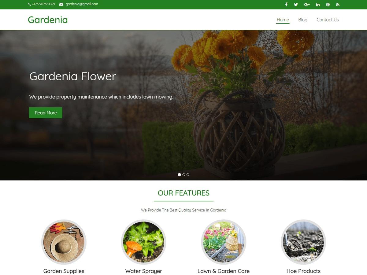 gardenia WordPress free download