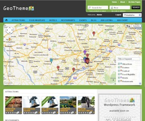 GeoTheme - Child Theme WordPress theme