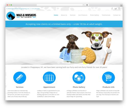 HAXON WordPress theme - wagsnwhiskersdoggrooming.com
