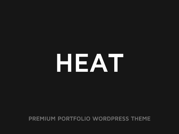Heat personal WordPress theme