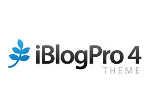 iBlogPro WordPress blog template