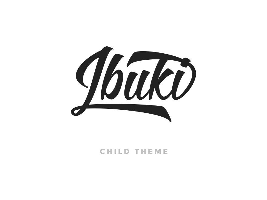 Ibuki Child Theme - Creative Portfolio WordPress Theme personal WordPress theme