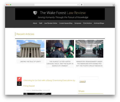 isis WordPress template free download - wakeforestlawreview.com