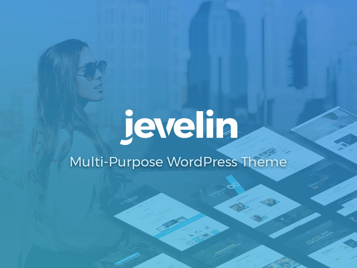 Jevelin theme WordPress