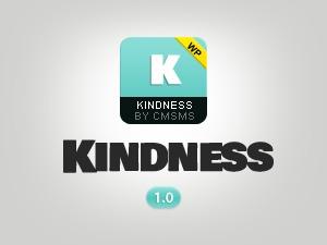 Kindness WordPress video theme