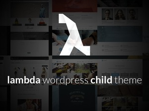 Lambda Child Theme WordPress template