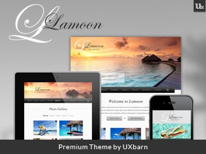 Lamoon best hotel WordPress theme