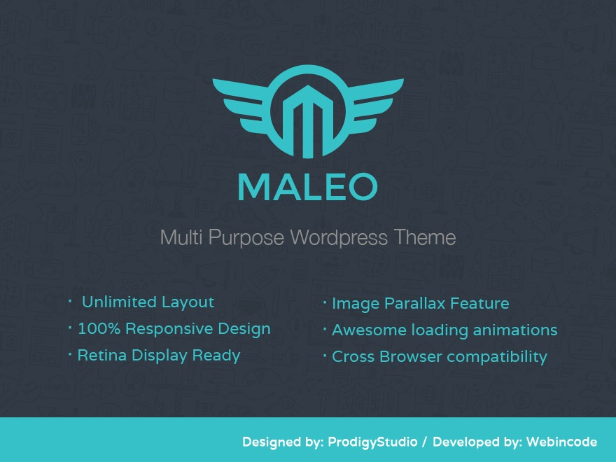 Maleo business WordPress theme
