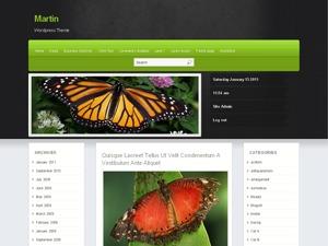 Martin WordPress theme