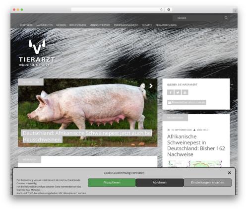 MH Squared WordPress theme - wir-sind-tierarzt.de