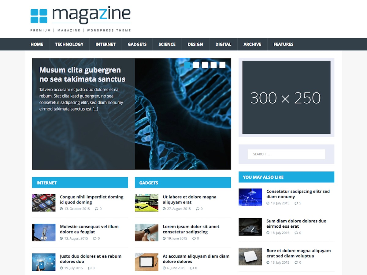 MH TechMagazine best WordPress magazine theme